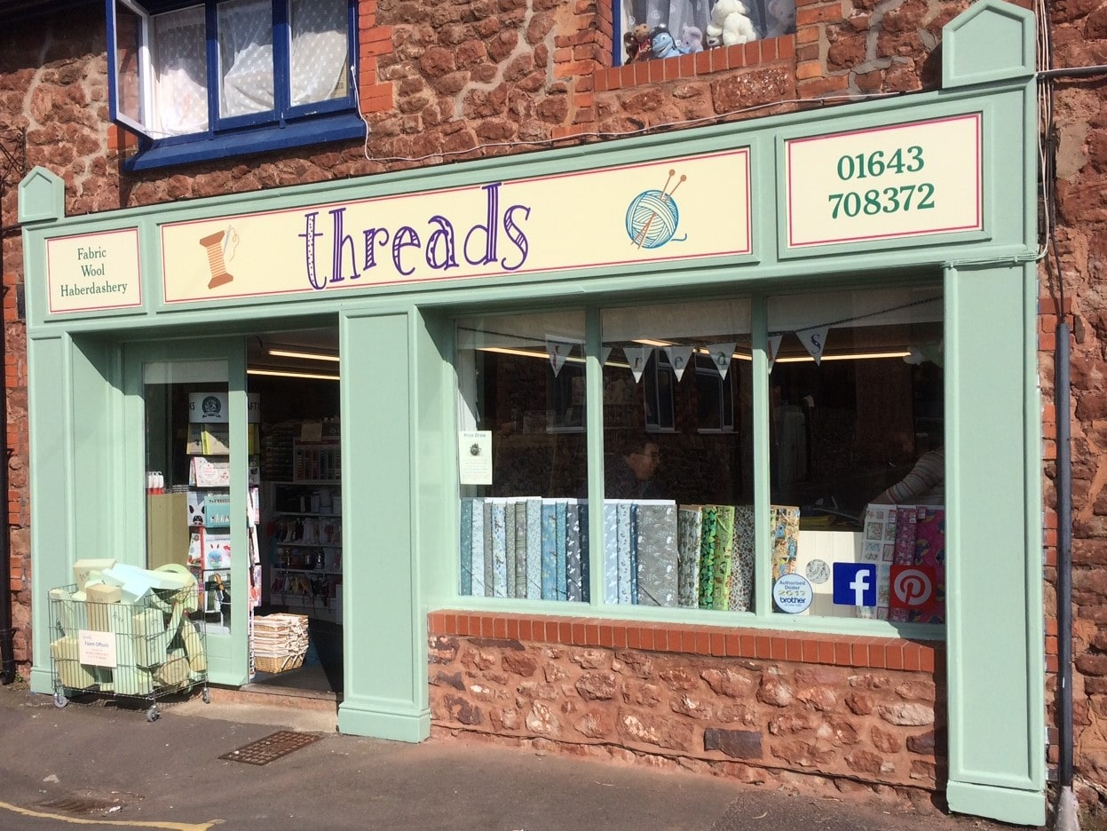 Threads of Minehead Shop