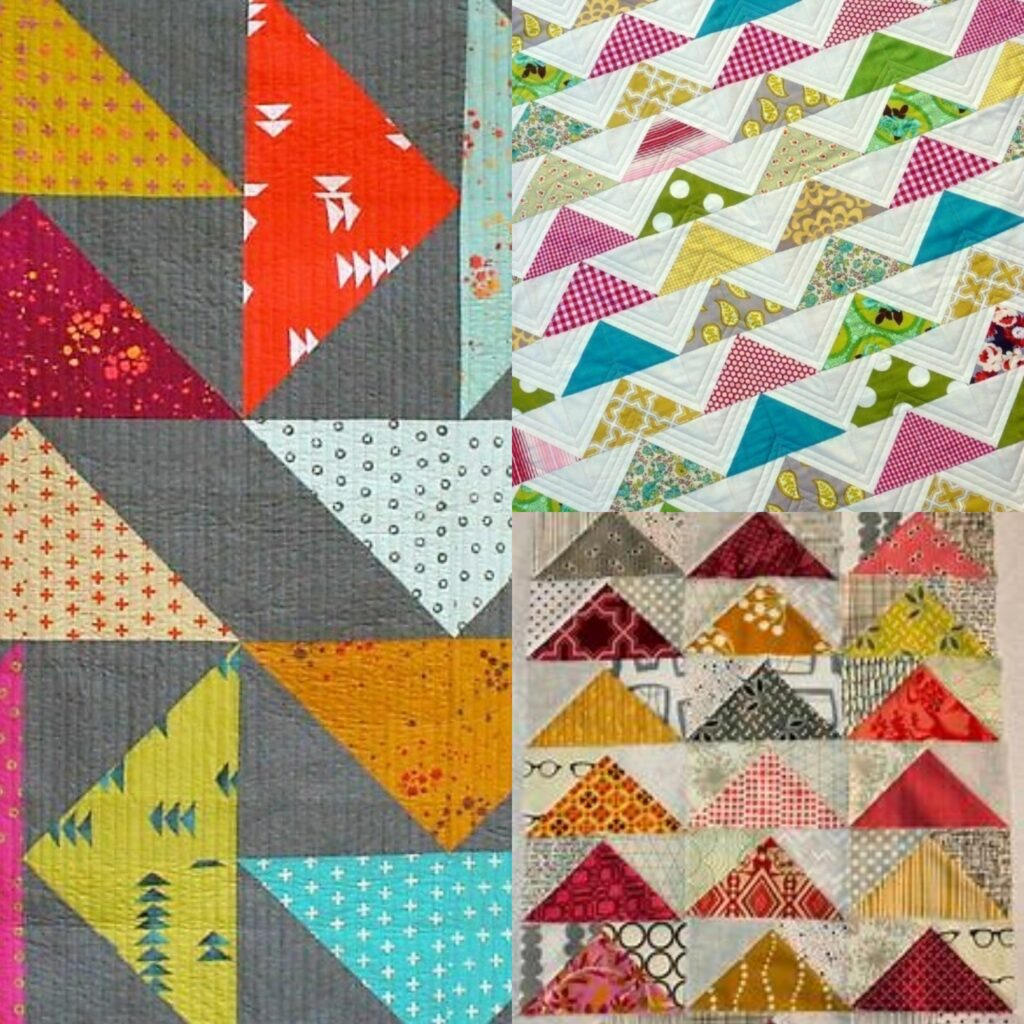 Beginners Monthly Quilt Block - Flying Geese