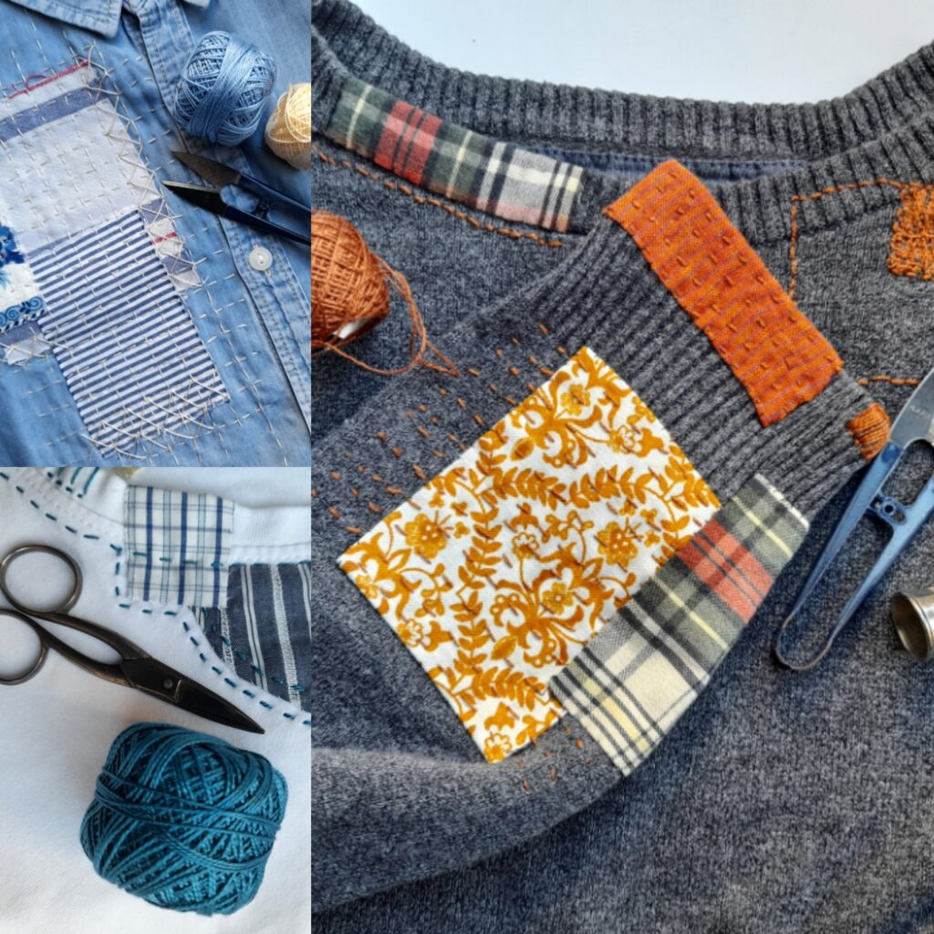 How to - Visible Mending, The New Fashion Detail